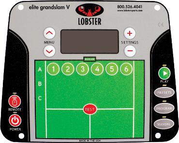 Grandslam Control Panel