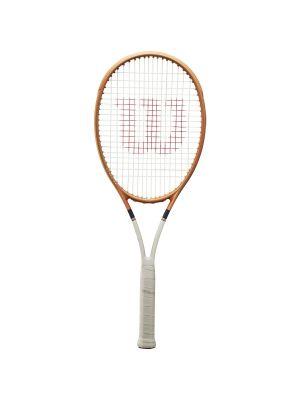 Wilson Blade 98 (16x19) Roland Garros Tennis Racquet (2021) WR068611