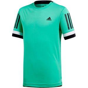 adidas Club 3-Stripes Crew Boy's T-shirt CV5891