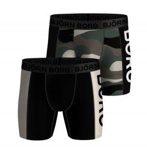 Bjorn Borg Performance Men's Boxer Panel x 2 3201-10000315-MP001
