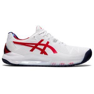 Asics Gel Resolution 8 Men's Tennis Shoes  1041A292-110