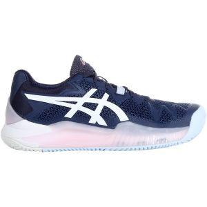 Asics Gel Resolution 8 Clay Women's Tennis Shoes 1042A070-401