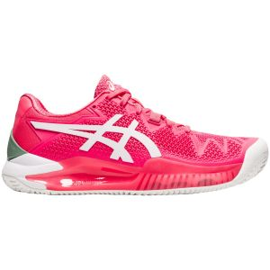 Asics Gel Resolution 8 Clay Women's Tennis Shoes 1042A070-702