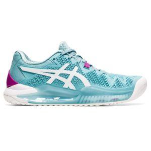 Asics Gel Resolution 8 Women's Tennis Shoes 1042A072-403