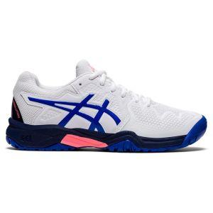 Asics Gel Resolution 8 Junior Tennis Shoes (GS) 1044A018-107