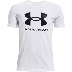 Under Armour Boys' Sportstyle Logo Short Sleeve 1363282-100