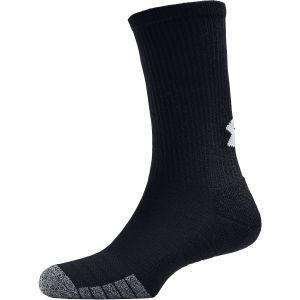 Under Armour Heatgear Tech Crew Sport Socks x 3 1346750-002