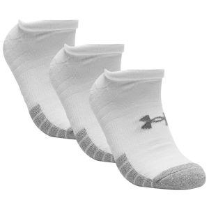 Under Armour Heatgear No-Show Sport Socks x 3 1346755-100