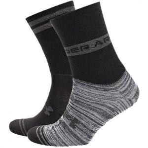 Under Armour Essential Hi Lo Socks x 2 1365746-001