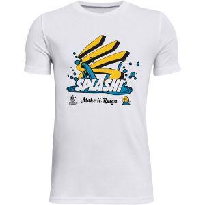 Under Armour Boys' Curry Splash Short Sleeve T-Shirt 1366606-100