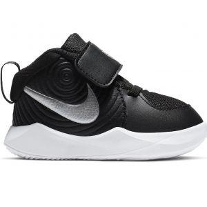 Nike Team Hustle D 9 Boys' Toddler Basketball Shoes (TD) AQ4226-001