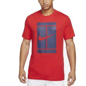 NikeCourt Men's Tennis T-Shirt DJ2594-657