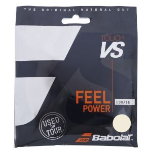 Babolat Touch VS Natural Gut Tennis String (1.30mm, 12m) 201031-128-16