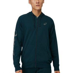Asics Big Logo Zippered Men's Tennis Jacket