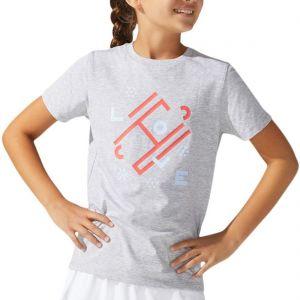 Asics Girls' Tennis T-Shirt 2044A022-021