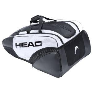Head Djokovic 12R Monstercombi Tennis Bags (2021) 283061-WHBK