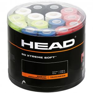 Head Extreme Soft Mixed Box x 60 Tennis Overgrips 285425