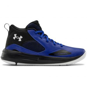 Under Armour Lockdown 5 Junior Basketball Shoes (GS) 3023533-400