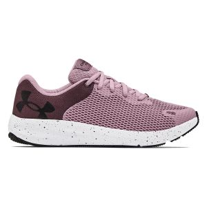 Under Armour Women's Charged Pursuit 2 Big Logo Speckle Running Shoes 3025244-601