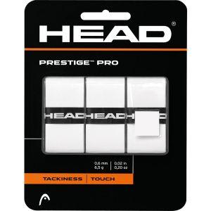 Head Prestige Pro Overgrip white ( 3 overgrips )