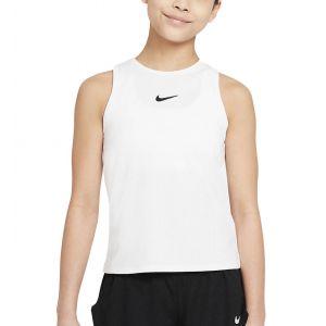 NikeCourt Dri-FIT Victory Girls' Tennis Tank CV7573-100