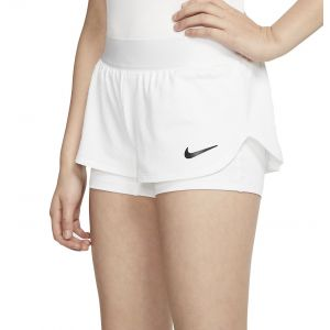 NikeCourt Flex Girls' Tennis Shorts CJ0948-100