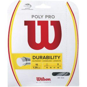 Wilson Poly Pro Tennis String (1.35mm, 12.2m)