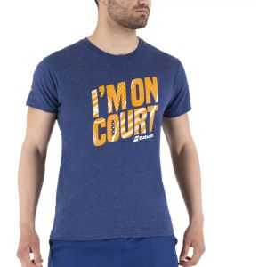 Babolat Exercise Message Men's T-Shirt  4MS21445-4005