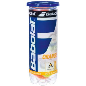 Babolat Stage-2 Orange Junior Tennis Balls x 3 501035