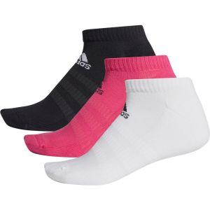 adidas Cush Low Unisex Sport Socks x 3 DZ9386
