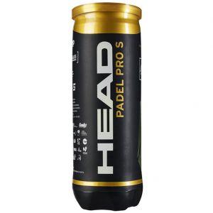 Head Pro S Padel Balls x 3 575713