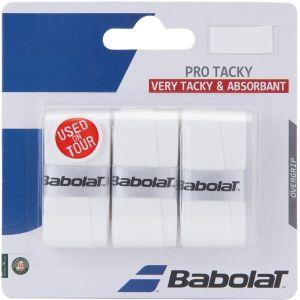 Babolat Pro Tacky Tennis Overgrips x 3 653039-101