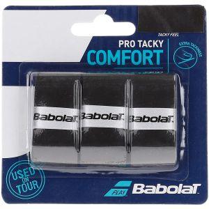 Babolat Pro Tacky Tennis Overgrips x 3 653039-105