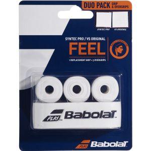 Babolat Syntec Pro Grip & VS Original Overgrip Pack 670068-101