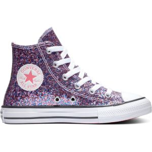 Converse Chuck Taylor All Star Coated Glitter HT Kid's Shoe 670176C