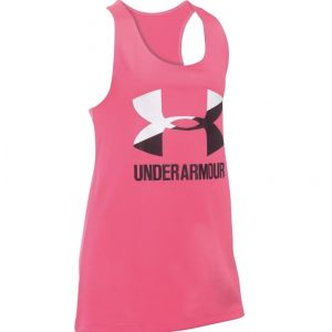 Under Armour Big Logo Slash Girl's Tank 1301883-975