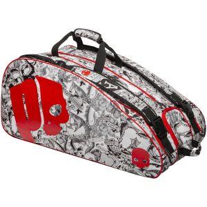 Prince O3 Tattoo 12-Racquet Tennis Bag 6P892185