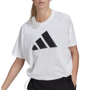 adidas Loose Fit Logo With Hem Sdjuster Women's T-Shirt GL9507