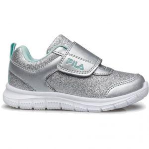 Fila Memory Glitter Velcro Toddler Fashion shoes (TD) 7Af11032-086