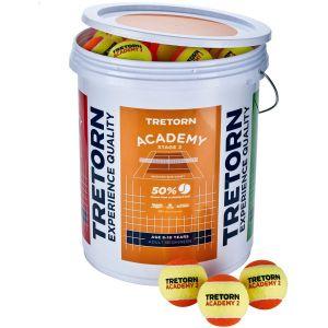 Tretorn Academy 72-Ball Bucket 474427-72