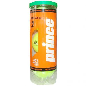 Prince Stage 2 Orange Dot Junior Tennis Balls x 3 7G323000