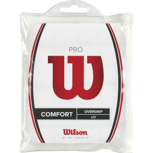 Wilson Pro Overgrips x 12 WRZ4016WH