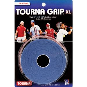 Tourna Grip XL Tennis Overgrips x 10 TG-10-XL