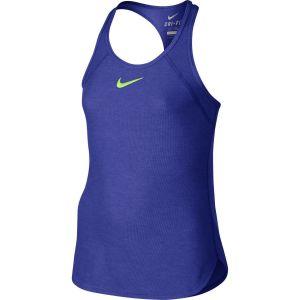 Nike Slam Girls' Tennis Tank 724715-452