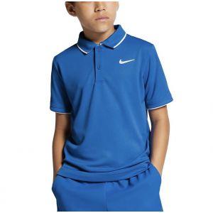 NikeCourt Dri-Fit Boys' Tennis Polo BQ8792-403