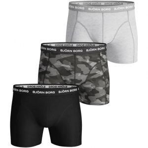 Bjorn Borg Solid Shadeline 3-Pack Men's Boxer 9999-1132-90651