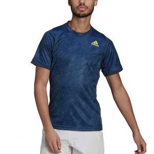 adidas Freelfit Printed Primeblue Men's Tennis Tee