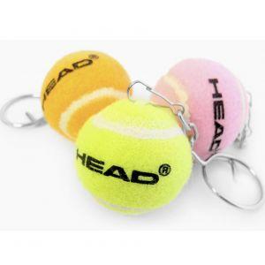 Head Mini Tennis Ball Keychain 589032