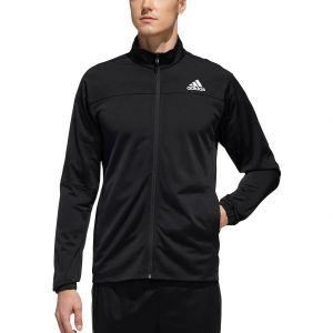 adidas 3-Stripe Knit Men's Tennis Jacket FS3771