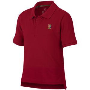 NikeCourt Boys' Tennis Polo AQ0962-687